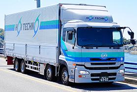 大型トラックドライバー(長距離)/愛知県蒲郡市勤務